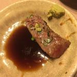 七隈園 - 醤油とワサビに上ロースが合います
