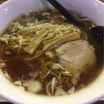 三吉 - らー麺セット(ラーメン+半炒飯) ¥650 単品だと¥300