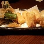 バール ダイコク - 葱の天婦羅