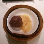 60376907 - 牛挽き肉の蒸しダンゴ