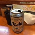 らーめん ゑびす - 缶ビール(350円)