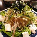 海鮮魚介と日本酒 旬彩和食くつろぎ - サラダ