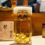 千亀 - 生ビール