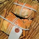 60388362 - 上海蟹姿蒸 雄雌食べ比べ                       メス オス