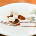 アクアビット - お通し、奈良漬けとチーズ