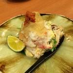魚や きてれつ - 蟹サラダ