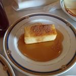 テラスレストラン - ホテルオークラ特製フレンチトースト