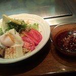 うまいもん屋 五エ門 - 広島風つけ麺 並盛 788円 つけダレ40倍バージョンww