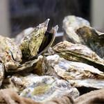 かき小屋フィーバー@BLUE JAWS 名古屋烏森店 - 料理写真:牡蠣のガンガン鉄板焼き