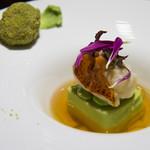 メゾン ルパン ミュラ - 冷前菜:カナダ産オマール海老のサラダ仕立て