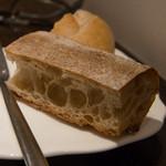 メゾン ルパン ミュラ - 湘南小麦のパン。薫香の効いたバター
