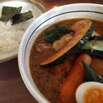 らっきょ&Star - 知床鶏と野菜のスープカレー