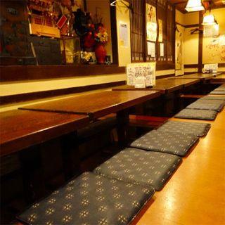 各種宴会にオススメ♪個室もご用意可能な温かみある隠れ家空間◎