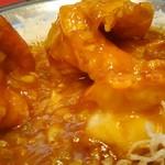 60398510 - 大海老の辛子ソース煮