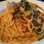 マザームーンカフェ - 渡り蟹のトマトクリームソース