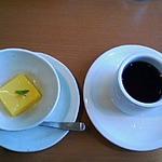 あか牛の館 - パパイアプリン&コーヒー