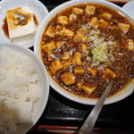 6040374 - 麻婆豆腐+餃子のセット