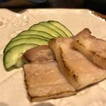 琉球料理 ぬちがふぅ - スーチカーの塩加減が絶妙であった。
