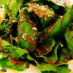 ラ・ベファーナ - 浅見さんちのルッコラのサラダ