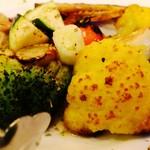 ラ・ベファーナ - いろいろ野菜の薪窯焼き