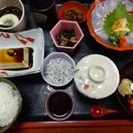 くーる - あかっぽ薄造り定食