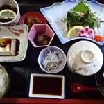 くーる - ウツボのたたき定食