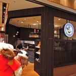 金澤ちとせ珈琲 - 切符を買ったあと、ボキらは金沢駅ビルのショッピングセンター 『金沢百番街あんと』でおみやげを買ったりお茶したりして、 帰りの電車の時間まで待つことに。