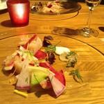 野菜ビストロ レギューム - 帆立貝柱と彩り大根