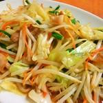 楓庵 - 肉野菜炒め(アップ)
