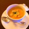 ラ・パルム・ドール - 料理写真:錦爽どりのコンソメと豆乳のロワイヤル