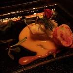 60406229 - ~GODDESS~                       オマール海老と彩野菜のアスビックゼリー寄せ                       2種のソースと共に