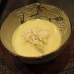 60408050 - 松葉ガニの茶碗蒸し 2016年12月