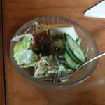 あらびかコーヒー - サラダ