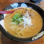 担々麺屋 炎 - 赤担々麺(大盛り)2016.10.22