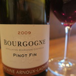 モンプチコションローズ - 28年12月 BOURGOGNE PINOT FIN 2009