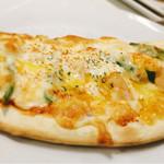 MUSHROOM - ハーフサイズピザは三日月