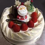 パティスリー シュゥエト - 苺のショートケーキ(クリスマスケーキ)