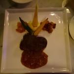 60411365 - 国産牛フィレ肉のポワレ、シャスールソース 3400円