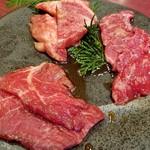 遊心 - 黒毛和牛遊心定食(1500円税別)