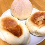 ミツバチ - メロンパン、おやきパン、パニーニ