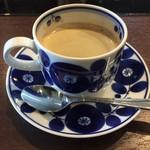 香音 - 食後のコーヒー(紅茶orコーヒから選択)は、別階にて・・・