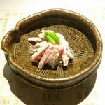 浪速割烹 喜川 - 金時人参、牛蒡、胡桃