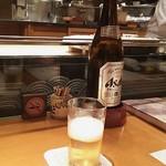 浪速割烹 喜川 - 瓶ビール