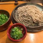 御陵院 香雅 - あつもり蕎麦(大盛り)