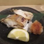 よし春 - 太刀魚の塩焼き