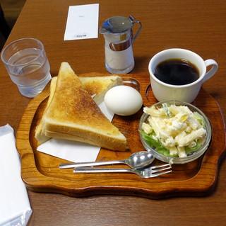 羅苧豆 - モーニングAトーストセット500円