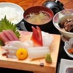 あづみ野 勝味庵 - 刺身定食