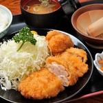 あづみ野 勝味庵 - チキンカツ定食