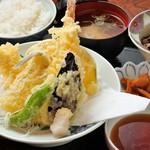 あづみ野 勝味庵 - 天ぷら定食