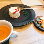 お菓子と喫茶 Dodo - ヌガーグラッセと焼き菓子、紅茶